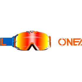 ONeal B-30 Goggles DUPLEX blue/white/orange-radium